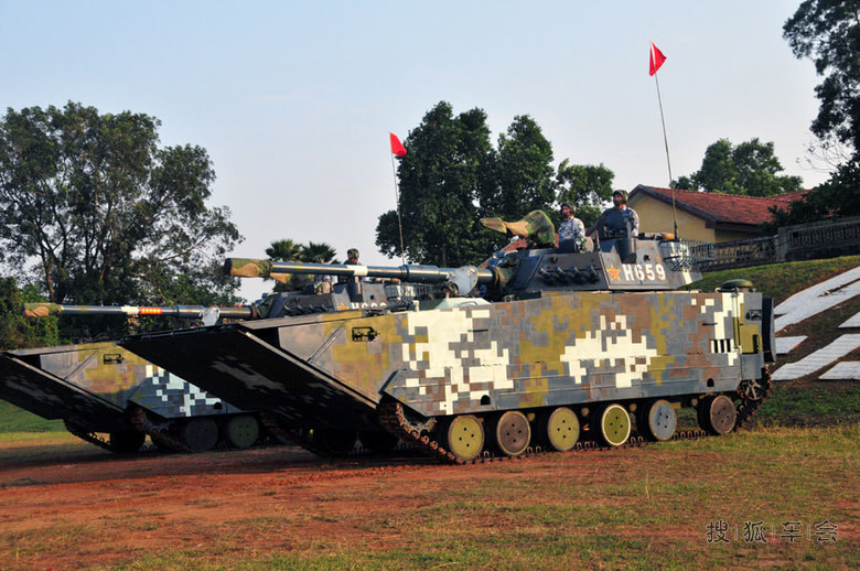 国产ztd-05高速两栖突击车