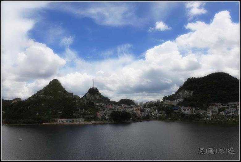 【漂流】黔中美景--洪山安顺湖_自驾游_搜狐车小视频原创图片