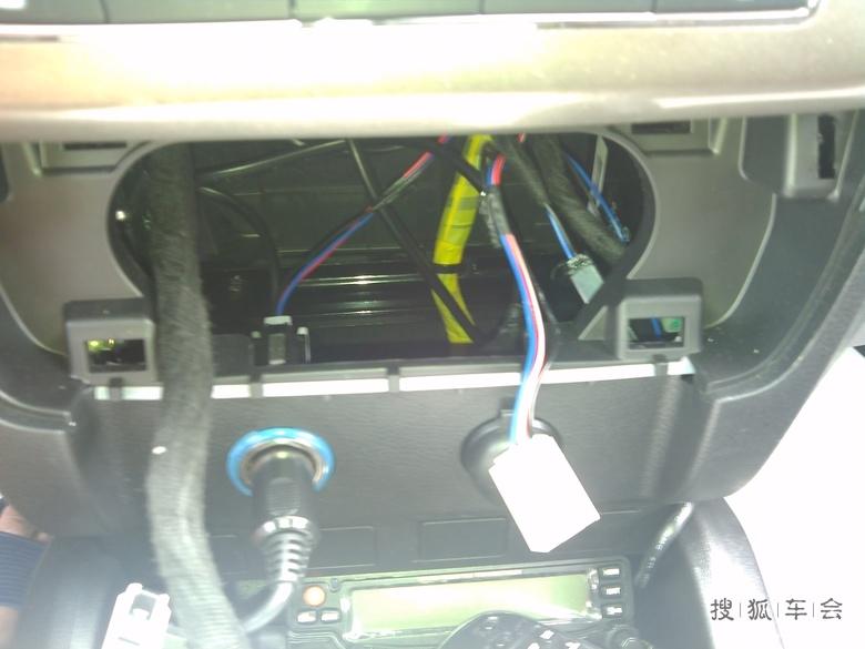 2014款gx7车载电台安装篇 高清图片