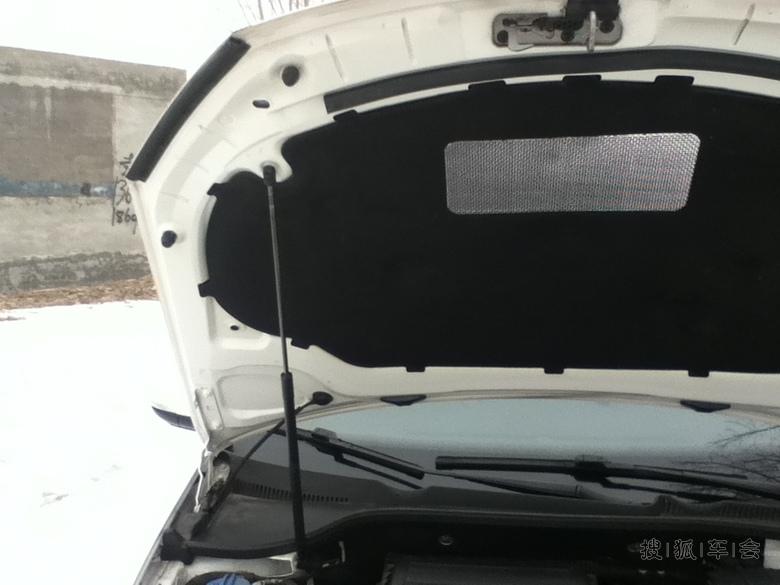 发动机盖液压顶杆,厚道的标志.叔叔现在还有几款车有此配高清图片