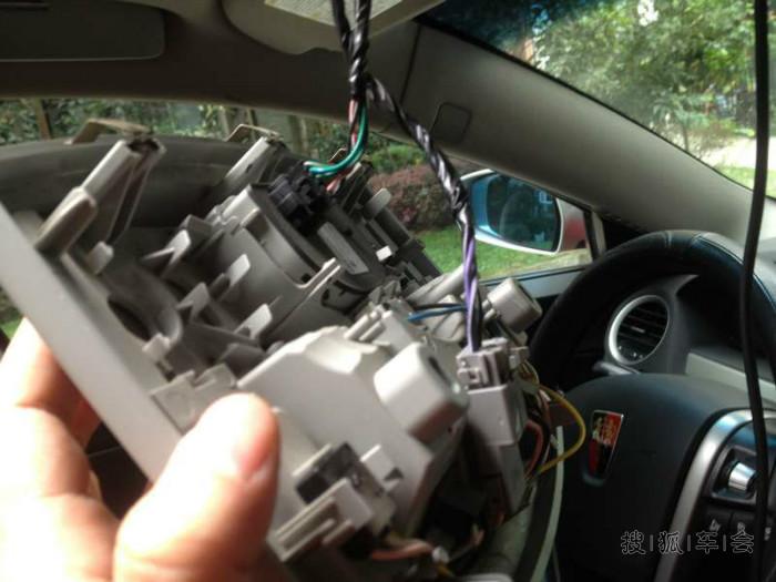 胖5阅读灯接电安装行车车记录仪diy实施步骤
