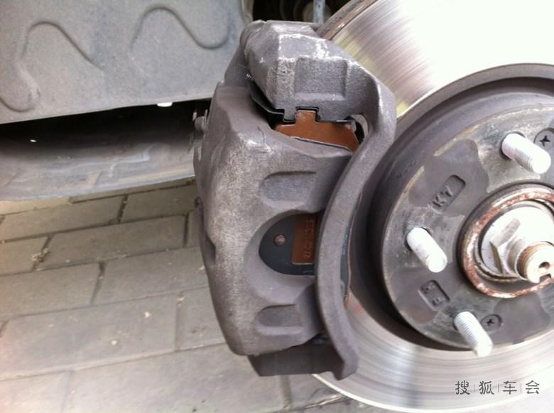 自己动手-----更换保养刹车片