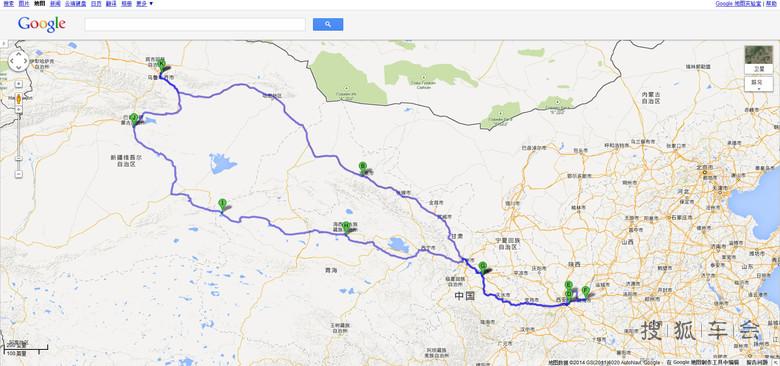 乌鲁木齐出发到西安一次近7000公里的旅行