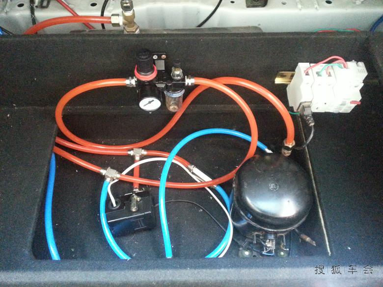 冰箱压缩机改气泵