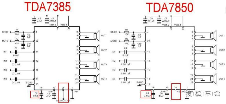 更换高音喇叭,升级功放为tda7850,打造hi-fi汽车影音     另外:从原理