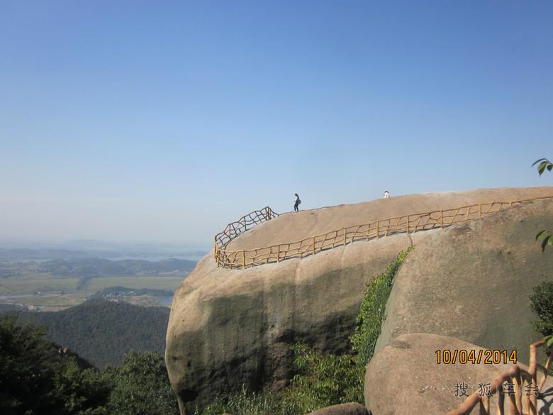 【多图】安庆巨石山风景区自驾游