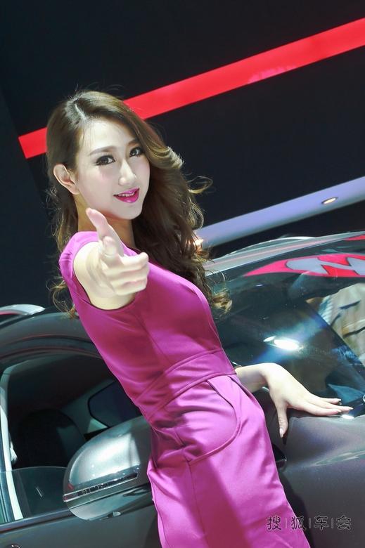 2016广州车展模特视频