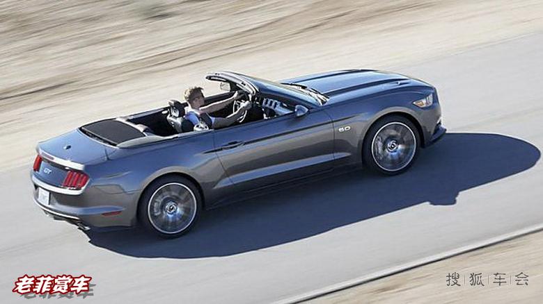 [老菲赏车]极速的福特全新野马敞篷超级跑车