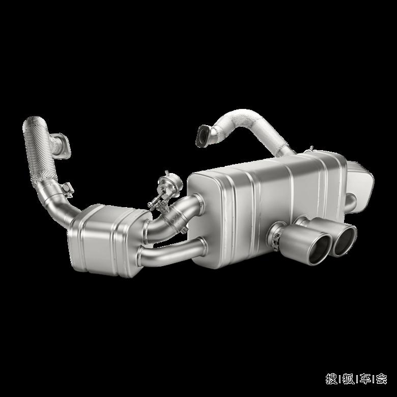 保时捷boxster改装天蝎排气 高清图片