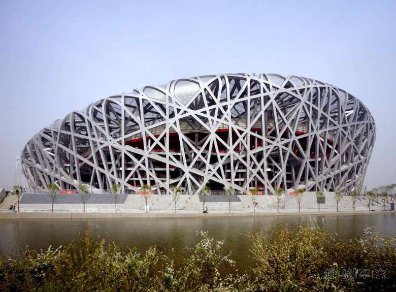 全世界形状超特殊的建筑物  中国北京国家体育场-鸟巢(beijing
