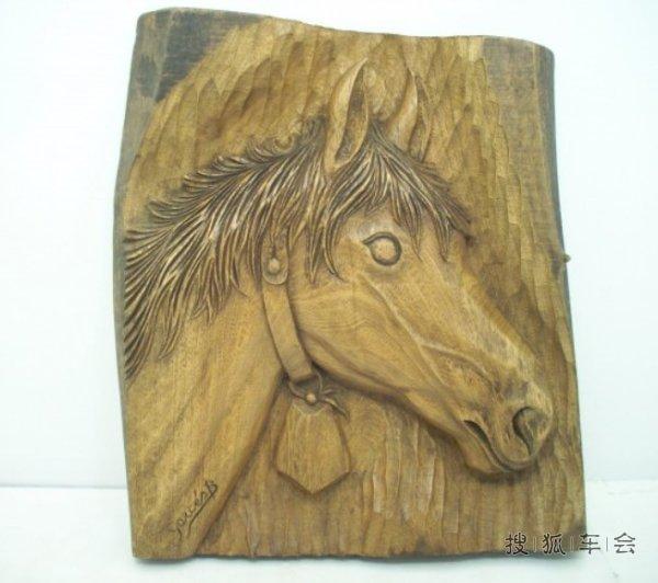 【木雕艺术】骏马