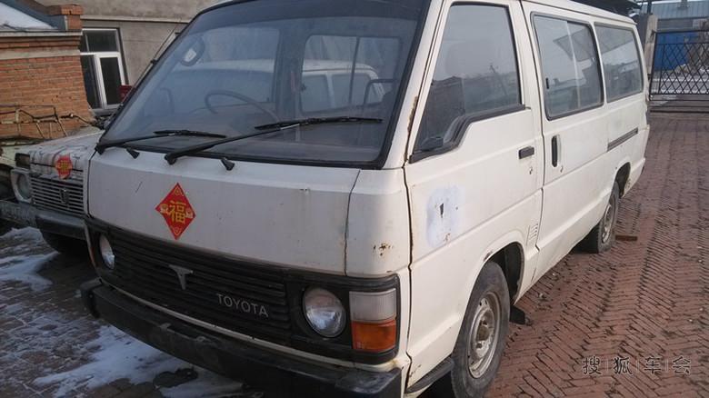 七十年代末八十年代初的产物丰田第二代海狮面包车