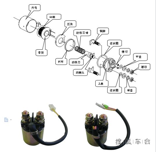 摩托车继电器的作用与原理