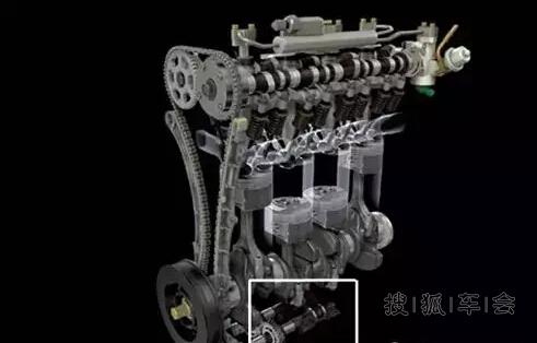 汽车发动机平衡轴的作用?