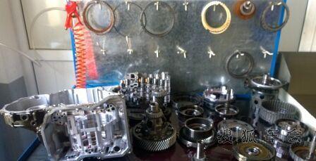 大众09g变速箱阀体维修作业