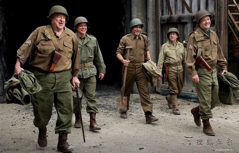好莱坞二战题材影片:盟军夺宝队