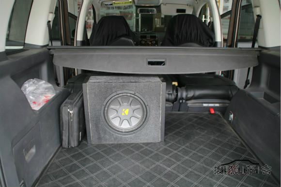 武汉乐改大众途安汽车音响改装 玩转三分频音响系统