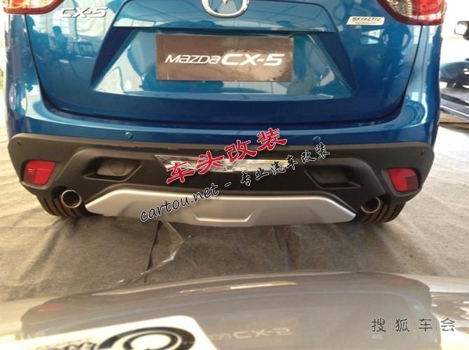 cx 5外饰改装前后杠踏板行李架等 高清图片