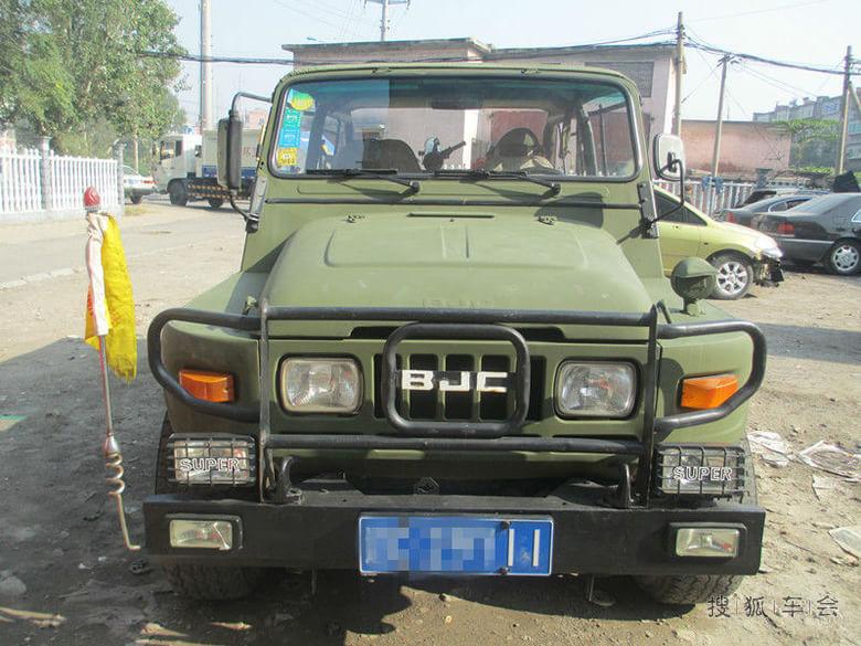 自己改装的2020vj北京吉普 北京汽车e系列车 高清图片