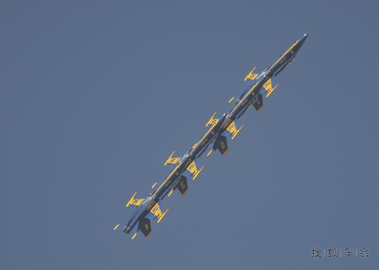 美国海军航空兵蓝天使特技飞行表演队