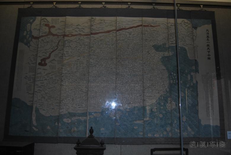 大清朝的地图