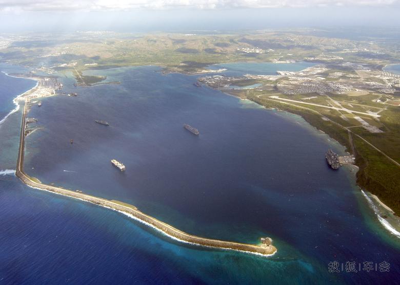 美国海军摄影师拍摄的鸟瞰作品 北京蓝天摄影