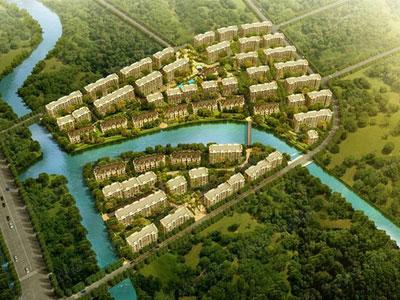 杭州知名房企滨江房产城西多层洋房。