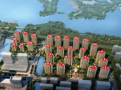 城东迪荡湖旁住宅新品加推。88方一口价72万/套起。
