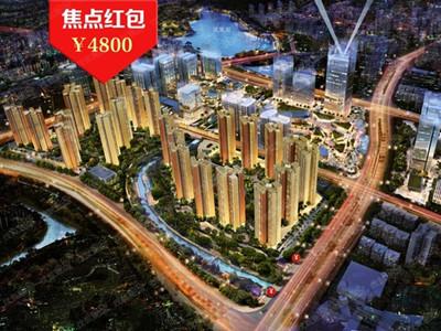 在售地铁口77-83平毛坯公寓均价1.3万/平,部分单位望凤凰湖景