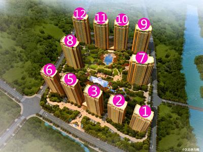 城西高层现房均价9000元/㎡全款96折