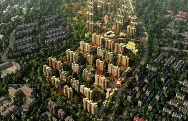 高新核心52万平低密生态宜居社区