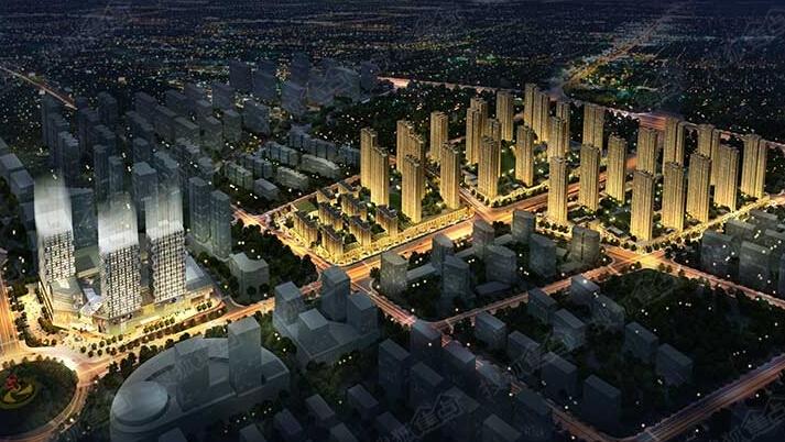 以集中式商业为核心,集住宅、酒店、酒店公寓、写字楼、商业
