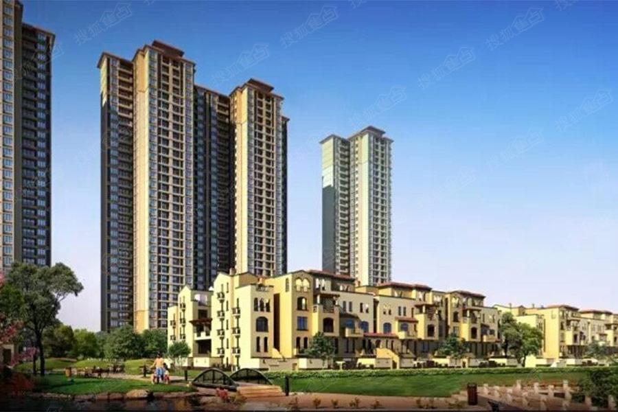 加推65-95平二至三房,精装折后均价2.3万/平,另有少量叠墅