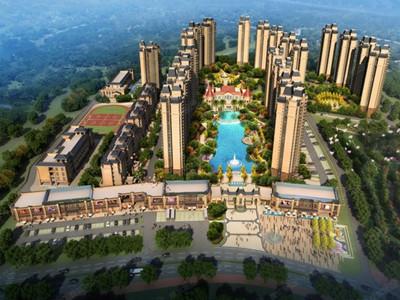 二期加推约86-99平(建筑面积)三房,全飘窗双湖景,精装1.45万