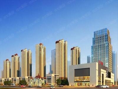 建面约90-133㎡高层在售,整体均价16100元/平米。