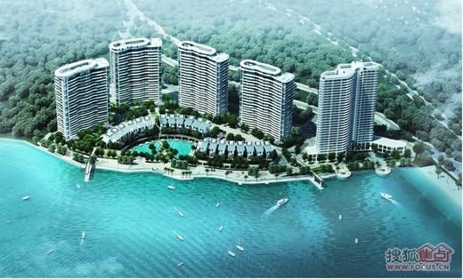 旅游地产、低密居所、黄金海岸度假区