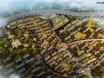 大连生态科技创新城核心居住区之上