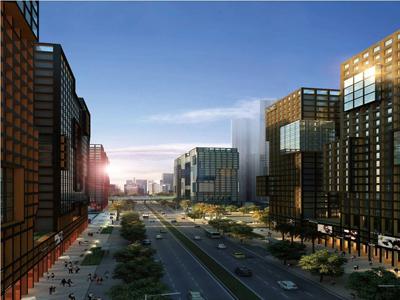 保利城 拾光LOFT建面约43-71㎡,层高约5.25-5.6米,即将面市