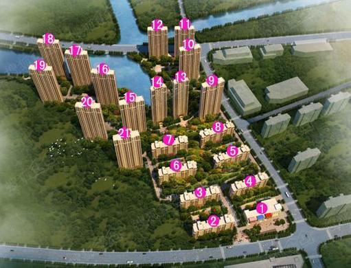高层准现房在售中单价约9300-9500
