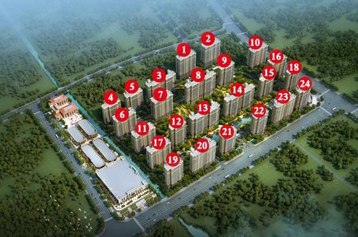 滨水新品住宅加推建面约100-140㎡