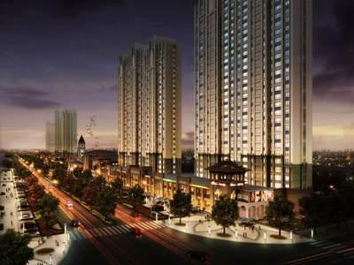 新品高层 建筑面积约85-110平米