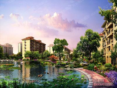 90-248平刚需改善户型都有,现房在售,自建6千平人工湖