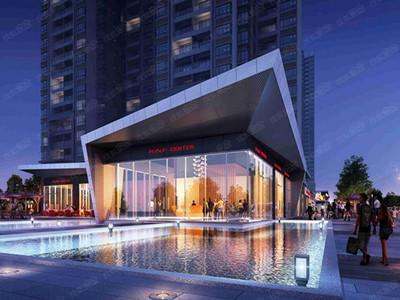 现售76-99平二至三房,两梯六户,售价约2.1-2.4万/平,精装交楼