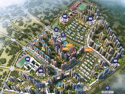总建面超200万平;复合地产,含别墅和洋房;近惠州高铁站。