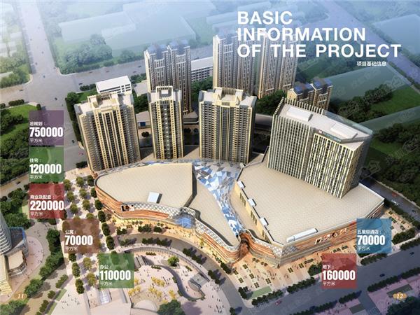恒丰中央广场目前濮阳市规模大、业态全的城市综合体。