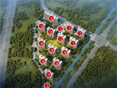 项目东面800米规划36万方商业综合体