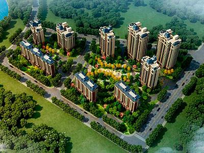 回民新区精装住宅,低密度社区,社区环境极佳。