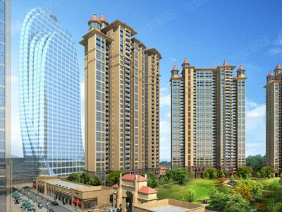 联泰香域水岸均价14000元/平,在售C栋,建面约56-1460㎡户型