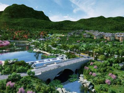 荣盛发展在石家庄打造的首个高端别墅区——抱犊寨阿尔卡迪亚