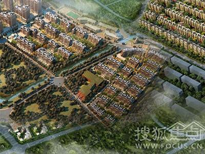 张家口大型生态园林宜居住宅小镇